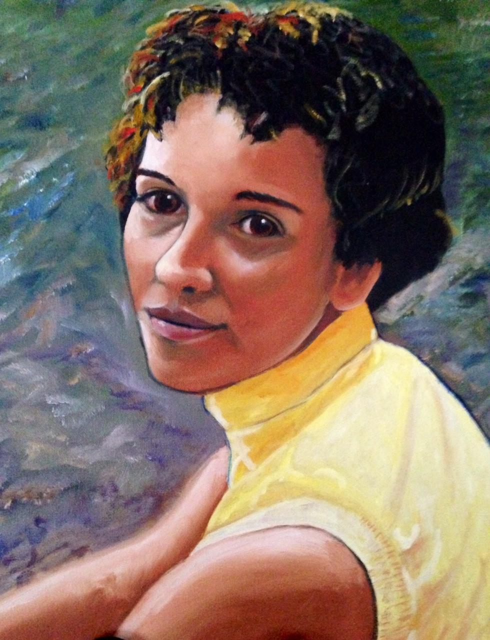 Portrait of Nadine