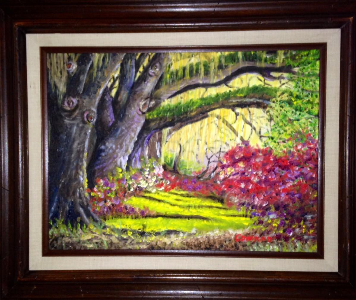Spanish Moss & Trees