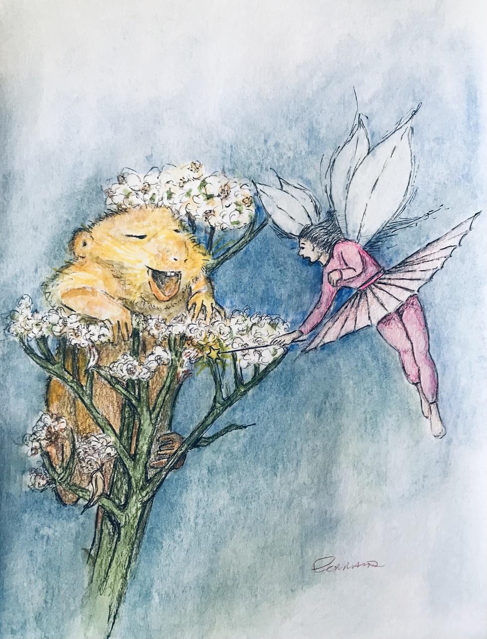 Mouse, Fairy & Lace